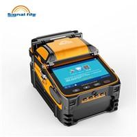 Six Motors Ai-9 FTTH Optic Fiber Fusion Splicer Machine Built In Vfl & Optical Power Meter Function