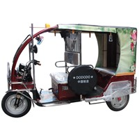 AKA4 Electric Rickshaw Tricycle, Electric Passenger Trike, Three Wheeler