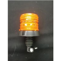 LED Beacon 10W Strobe Warning Light W/Spigot Bracket 12-24V DC Input for Construction Machinery