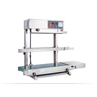 FR-770-500 Automatic Continuous Plastic Bag Heat Sealer Sealing Machine for Aluminum Foil Plastic Bag