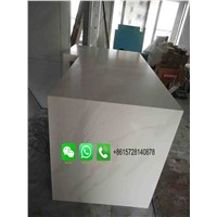 Wholesale Solid Surface Countertop Material, Italian White Carrara Marble Slab, Vanity Counter Top Table Top for Home