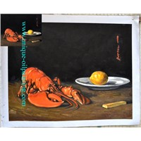 Oil Painting, Still Life Oil Painting