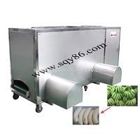 Semi-Auto Green Plantain Banana Skin Peeling Machine on Sale