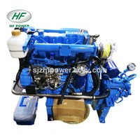 HF490H 58hp 4 Cylinder Inboard Boat Marine Engines with Gearbox