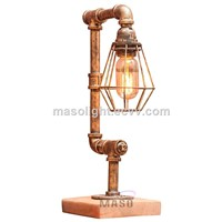LED Pipe Decorative Light Furniture Metal Reading Lamps
