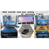 Unikonex Laser Cutting Heat Transfer Vinyl for Customizing T-Shirt