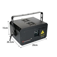 2w RGB Waterproof LED Stage Laser Light Projector with Cheap Price