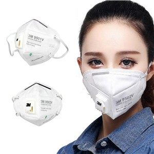 Disposable Free Adjustable Headgear 9502V KN95 Mask Full Face Mask with Respirator Dust Virus Masks KN95