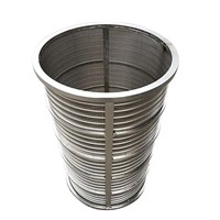 High Quality Wedge Wire Filter Basket Cylinder Customed Manufacturer China