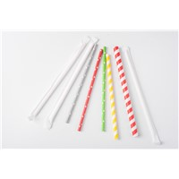 Biodegradable Eco-Friendly Disposable Individually Wrapped Paper Straw