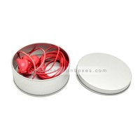 Custom Printed Plain Round Tins for Candy Tea Storage Tin Packaging Box