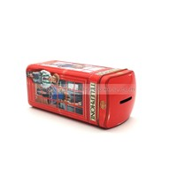 Money Saving Tin Box Coin Bank Piggy Bank Tin Can