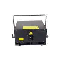 Outdoor Concert 8w RGB Disco Stage Animation Laser Light with Beam Switch