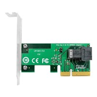 Linkreal Four-Lane NVMe PCIe 3.0 X4 to SFF-8643 Adapter Connecting to U. 2 SFF-8639 Interface SSD