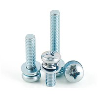 Pan Head SEMS Screws Stainless Steel Sems Screws