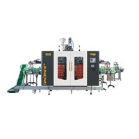 0.3L/4 Cavity Extrusion Blow Molding Machine Double Station for Small Bottles