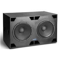Double 18 Inch Passive Subwoofer Cinema Speaker TB218