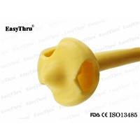 Silicone Malecot Gastrostomy Tube Pezzer Catheter, Nature Latex Malecot Nephrostomy Catheter