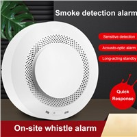 Home Security Wireless Smoke Detector Fire Alarm System Battery Operated APP Alarm