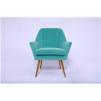 Living Room Furniture, Sofa Chair, Velvet Fabric, Leisure Chair