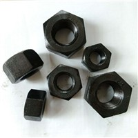 Carbon Steel Q235 Q195 C1088 Zinc Plated Plain HDG Hex Head Nut DIN934