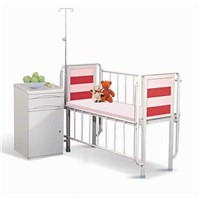 Nice Steady Hospital Baby Crib Common Multifunction Bed Powder - Coated Steel