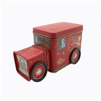 Car Shape Box, Children Storage Metal Can, Toys Metal Packaging Tray, Tin Can Manufacturer, Food Tin