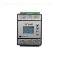 DCEM LCD Display 4 Channels Dc Energy Meter, Battery Bank UPS Multi-Circuit Dc Power Meter Rs485