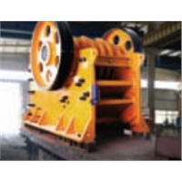 Jaw Crusher for Crushing Stones Or Rocks with Compressive Strength Less Than 320 MPa