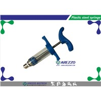 Veterinary Plastic Steel Syringes