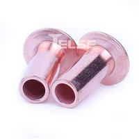 DT-BQ Copper Plating, Flat Head Tubular Rivet.
