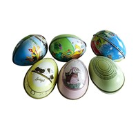 Easter Eggs Tin, Gifts Metal Crafts Box, Easter Products Packaging, Toys Tin