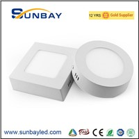 6W 9W 12W 15W 18W 20W Square Round Surface Mounted LED Ceiling Lamp