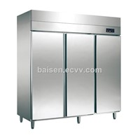 3 or 6 Doors Restaurant Refrigeration Equipment Kitchen Refrigerator