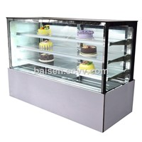 Commercial Right-Angle Cake Preservation Cabinet Cake Display Cabinet