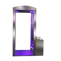 Intelligent Disinfection Channel/Door with UV, Ozone, Water Liquid Disfectant Spray All Body 720 Degree Disinfection