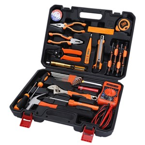 STT-033 MULTIFUNCTION HOUSEHOLD 33 PIECE HARDWARE ELECTRICIAN MAINTENANCE TOOL SET