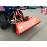 Flail Mower with Hydraulic Side Shift