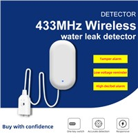 Wireless 433MHz Water Leak Detection Alarm Alarm System Accessory