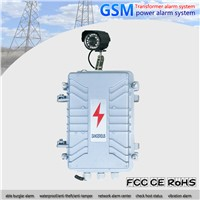 Industrial Anti Theft GSM Alarm System Electric Power Transformer Alarm System Wireless Power Failure 5 SMS Auto Dial V