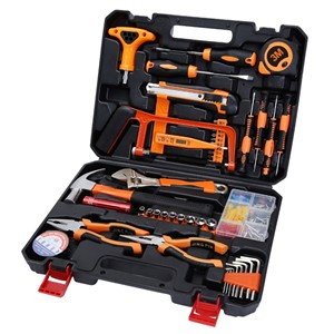 Stt-045 Multifunction Household 45-Piece Electrician Repair Toolbox Set Lightweight Multifunctional Hand Tools Kits