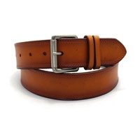 New Arrival Male Strap Waistband Genuine Leather Belt 4.0cm Width