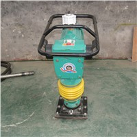 Vibratory Tamping Rammer Road Tamp Ram Construction Vibration Tamping Rammer Compactor Machine Earth Sand Soil Wacker