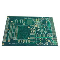 Press Fit Printed Circuit Board