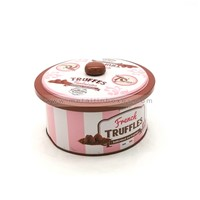 Chocolate Metal Gift Tin Box for Chocolate Packaging