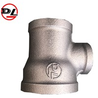 Black Malleable Iron Pipe Fittings Malleable Iron Pipe Tee