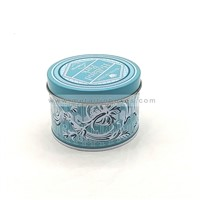 Customized Round Candle Tin Can Container Empty Candle Tins