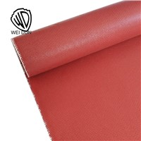 Electronic Insulation 0.9mm Good Price Silicone Rubber Coated Fiberglass Fabric