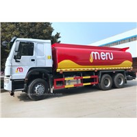 HOWO 25000 Liters Heavy Fuel Oil Truck Tanker Fuel Tank Truck