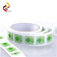 Full-Color Printing HF/UHF Passive Paper Roll Smart NFC RFID Label/Sticker/Tag